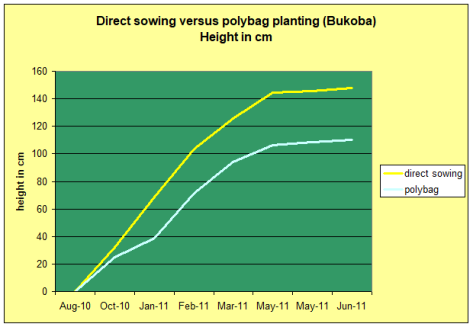 direct seeding graph